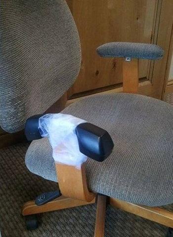 ที่พักแขนเก้าอี้