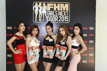 FHM Girls Next Door 2015