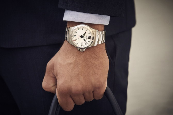 Longines Conquest V.H.P. GMT Flash Setting