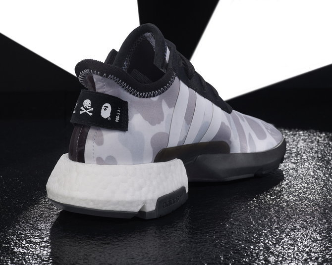 BAPE x NEIGHBORHOOD x adidas POD-S3.1 & NMD STLT