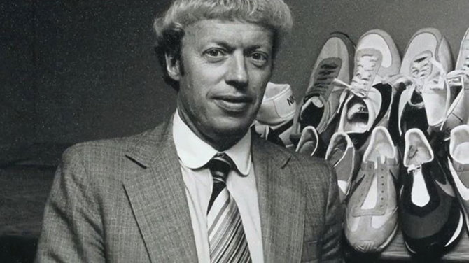 ฟิล ไนต์ (Phil Knight) อดีตนักวิ่ง หนึ่งในผู้ก่อตั้ง Nike