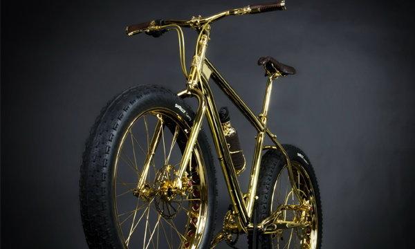จักรยานทองคำ คันละ 30 ล้านบาท