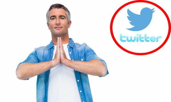ฝึกจิตด้วย Twitter