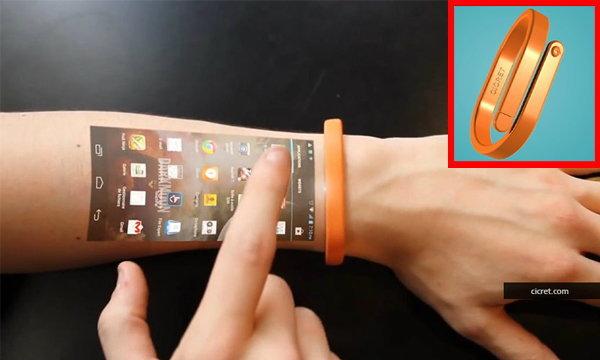 Cicret Bracelet กำไลข้อมืออัจฉริยะ นวัตกรรมแห่งอนาคต