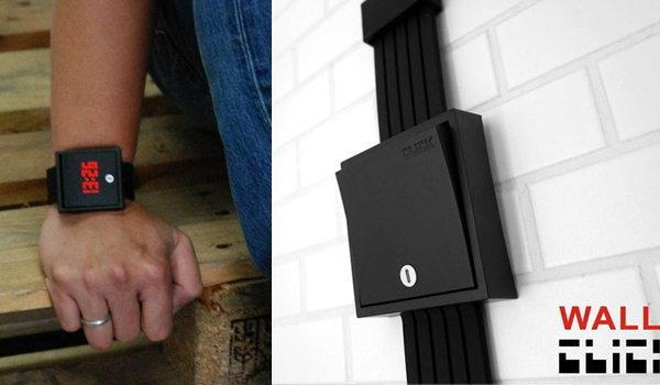 Click Wall Switch Watch นาฬิกาสวิสต์ไฟ