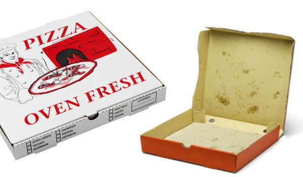 DIY : กล่องพิซซ่า ทำอะไรได้บ้าง