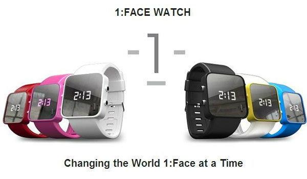 1-Face Watch นาฬิกาสำหรับคนใจบุญ