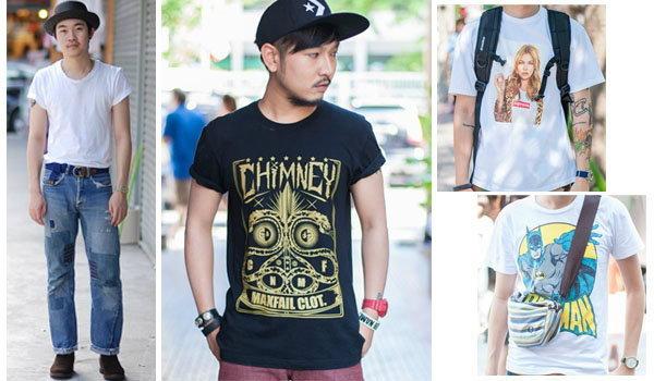 Street Fashion : เสื้อยืดเท่ๆ