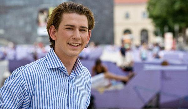 Sebastian Kurz รัฐมนตรีสุดหล่อ วัย 27 ปี