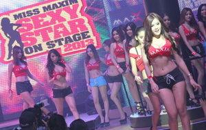 เต้าทะลัก! ย้อนบรรยากาศ MISS MAXIM 2013 รอบสุดท้าย