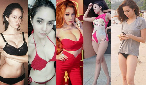 5 สาวเซ็กซี่ ชอบโชว์ของดีผ่าน IG