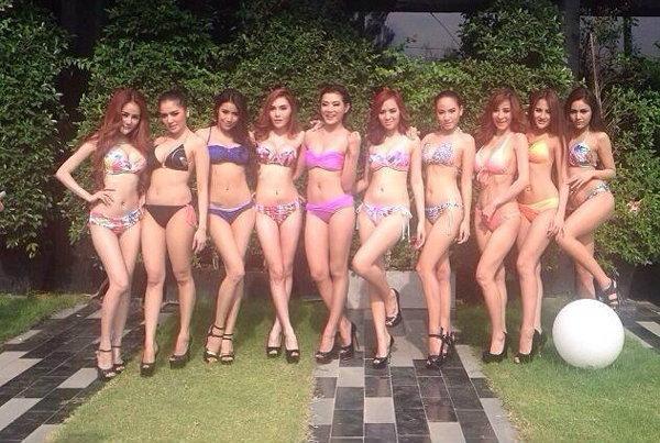 เรียกน้ำย่อย ภาพเก็บตัวสาวๆ มิสแม็กซิมไทยแลนด์ 2014 ในชุดบีกินี่