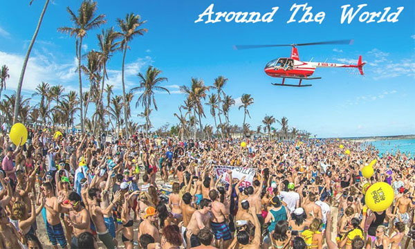 10 สุดยอดปาร์ตี้ชายหาดฉลองปีใหม่รอบโลก