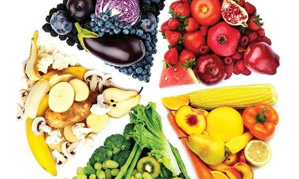 กินผักผลไม้ครบสี สุขภาพดี๊ดี!