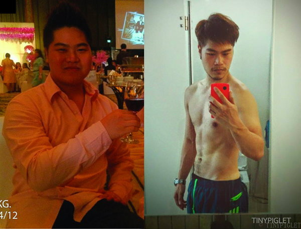 ลดน้ำหนักฉบับไตรภาค การลดน้ำหนักที่ผมลองกับตัวเอง