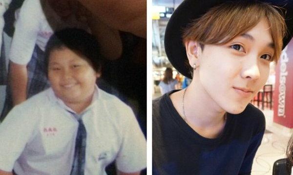 จากเด็กผู้ชายอ้วนดำ สู่หนุ่มหน้าใสสไตล์เกาหลี
