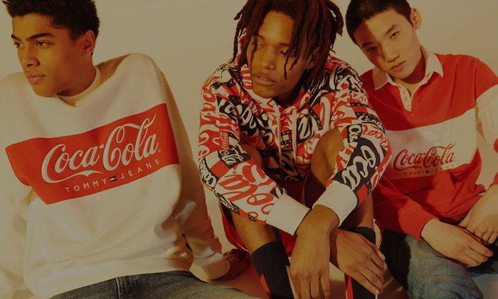 Tommy Jeans x Coca-Cola คอลเลคชั่นสไตล์วินเทจย้อนยุค