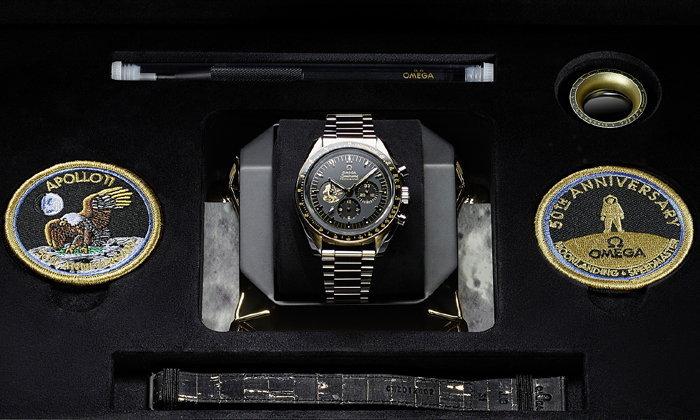 ฉลอง 50 ปีพิชิตดวงจันทร์ Omega เปิดตัว Speedmaster Apollo 11 50th Anniversary