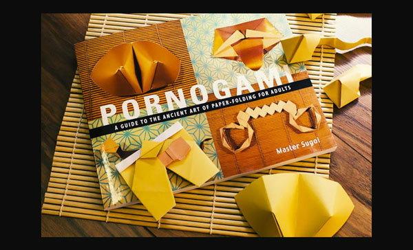 หนังสือ Pornogami สอนพับกระดาษแนว 18+