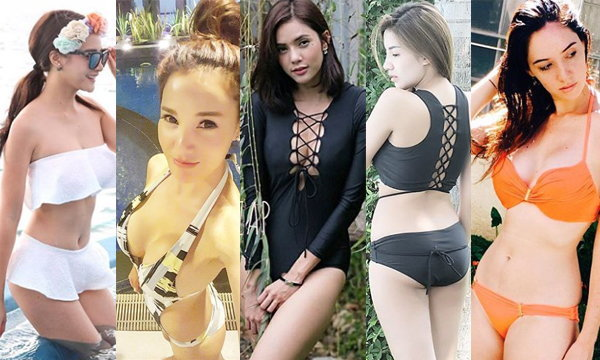 7 สาวเซ็กซี่ โชว์ชุดว่ายน้ำบน Instagram ครั้งใดฮอตตลอด
