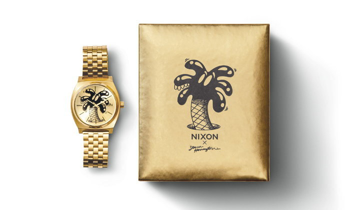 Limited Edition! NIXON X STEVEN HARRINGTON
