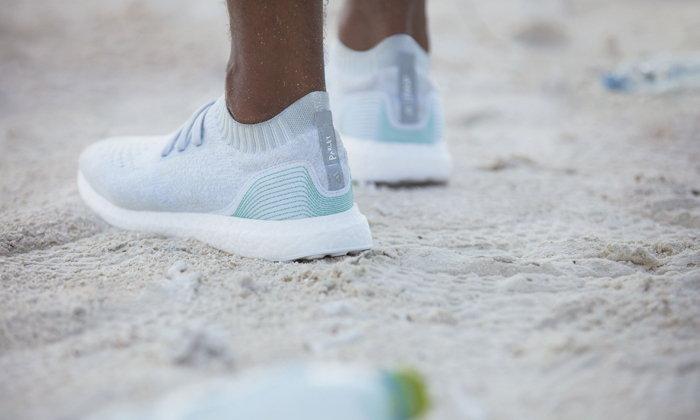 UltraBOOST Uncaged Parley รองเท้าที่ผลิตจากขยะพลาสติกในทะเล