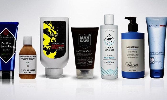 สุดยอดผลิตภัณฑ์ทำความสะอาดผิวหน้าสำหรับผู้ชาย