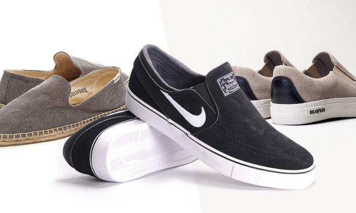 15 รองเท้า Slip-On ที่ดูดีมีสไตล์สำหรับผู้ชาย
