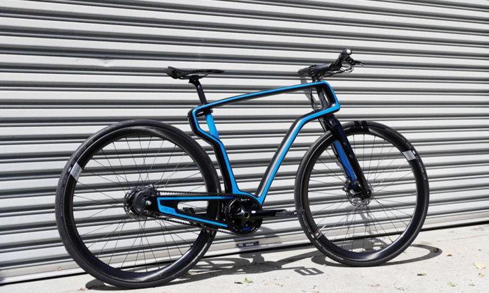 เปิดตัวจักรยานสร้างจากเครื่องพิมพ์สามมิติคันเเรกของโลก