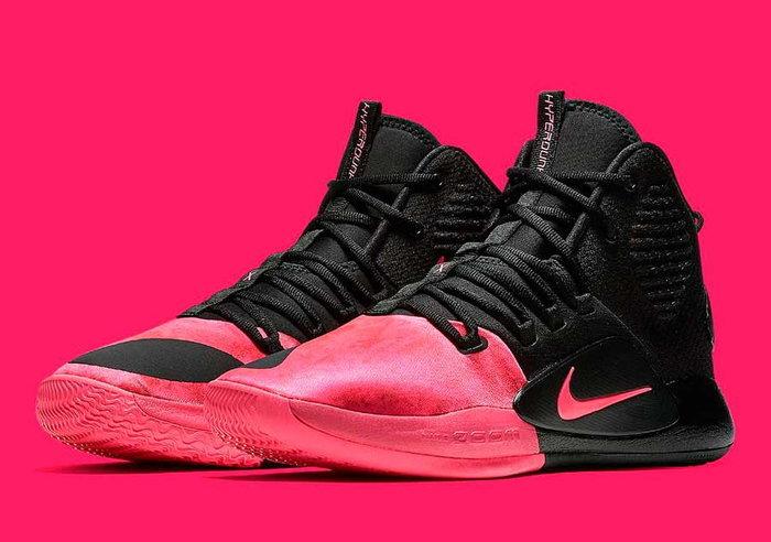 ชมก่อนใคร Nike Hyperdunk สีชมพูสดใสเพื่อระลึกถึง Kay Yow