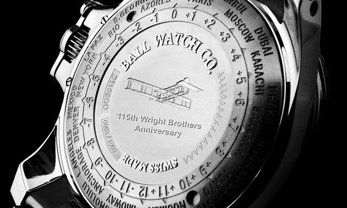 Ball Watch เปิดตัวนาฬิการุ่นพิเศษฉลอง 115 ปีพี่น้องตระกูลไรท์
