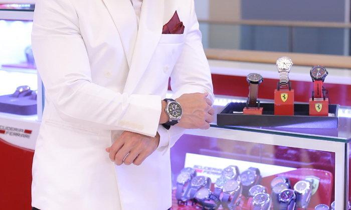 Scuderia Ferrari Watch Brand Concept Store ร้านแบรนด์นาฬิการูปแบบใหม่