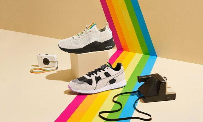 PUMA และ Polaroid ส่งรองเท้าสนีกเกอร์รุ่นลิมิเต็ดสุดคูลเอาใจแฟน ๆ