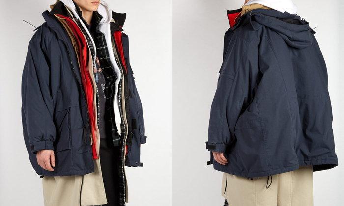 ซ้อนกัน 7 เลเยอร์ เสื้อโค้ท Balenciaga ตัวละ 2 แสนกว่าบาท