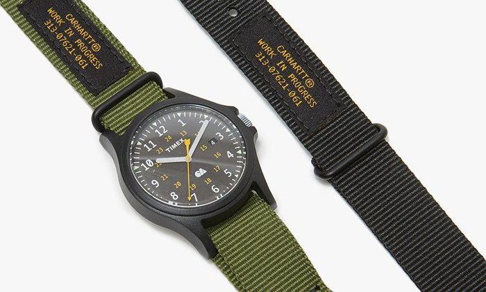 Timex x Carhartt WIP นาฬิกาสายผ้าราคาสบายกระเป๋า