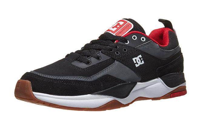 DC ปล่อย E.Tribeka Shoes สีดำ-แดง ลงตลาด สนนราคา 3,950 บาท