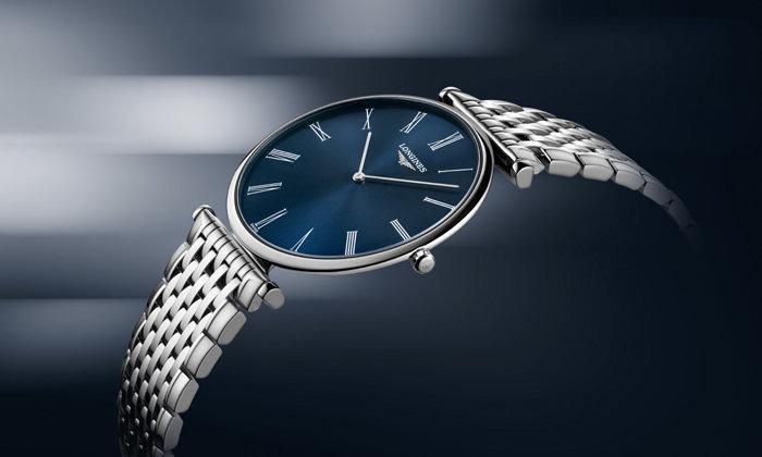 """ลองจินส์แนะนำนาฬิกา """"La Grande Classique de Longines หน้าปัดน้ำเงินซันเรย์"""""""