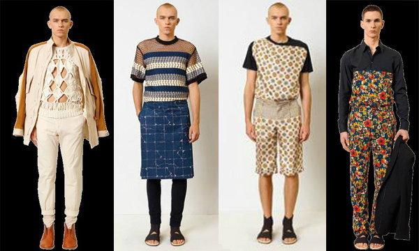 เสื้อผ้าผู้ชายในรูปแบบไร้เพศสไตล์โกลติเยร์