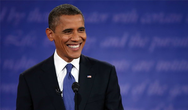 โอบามา คว้าบุคคลทรงอิทธิพลที่สุดในโลก 2012