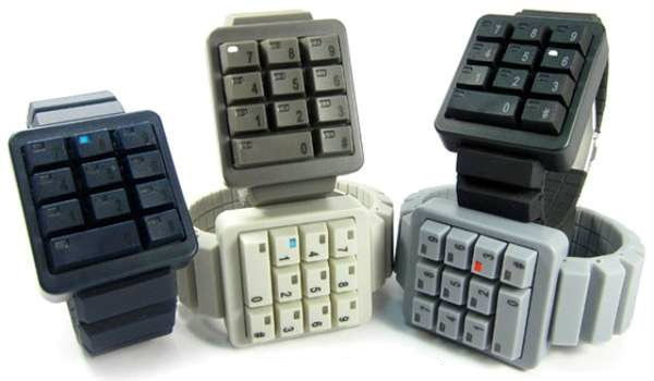 Keypad Watch นาฬิกาคีย์บอร์ด