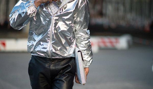 เมทัลลิก เทรนสีเสื้อผ้าผู้ชาย 2013