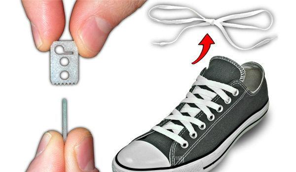 หมดปัญหาเชือกรองเท้าหลุด ด้วย Lace Anchors