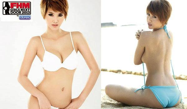 นุช-นันทภัค FHM Girl Next Door 2013