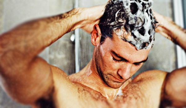 how to wash off hair wax