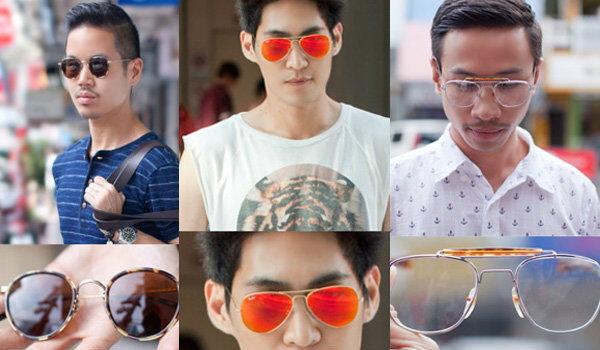 Street Fashion : แว่นตา
