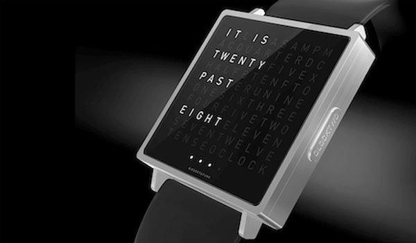 QLOCKTWO W นาฬิกาตัวอักษร