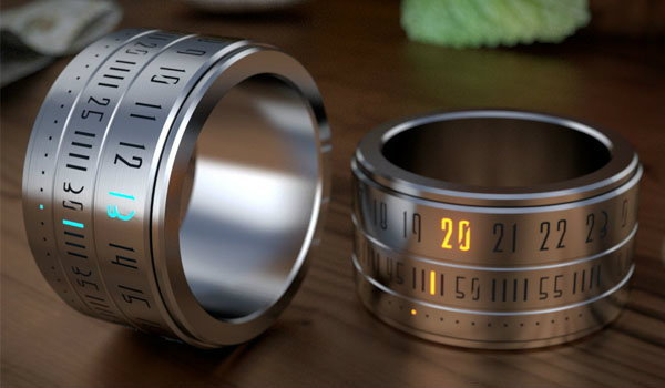 RING CLOCK จับนาฬิกามาลงแหวน