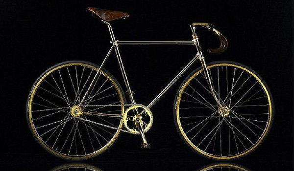 ตื่นตา บ.ยุโรปผลิตจักรยานเสือภูเขาทองคำ 24 กะรัต ราคาแค่ 3.35 ล้านบาท