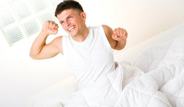ท่าออกกำลังกาย หลังตื่นนอน
