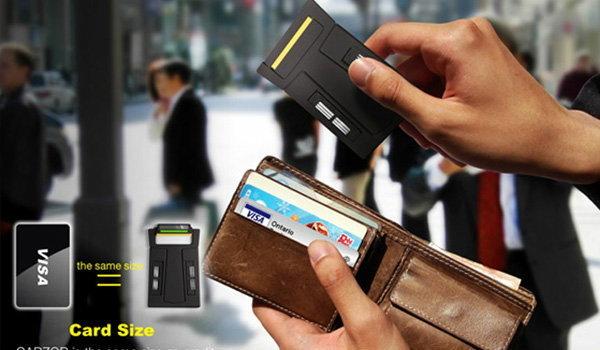 โกนหนวดด้วย บัตร ATM ??
